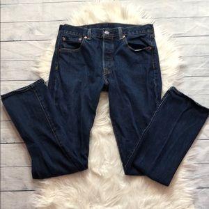 Levi's 501 Original Fit Button Fly Jeans W30 L32